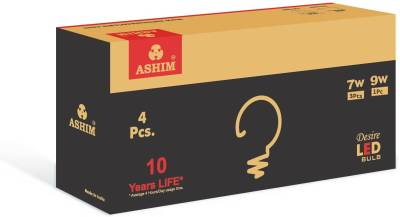 Ashim-Desire-7W-(Pack-Of-2)-And-9W-(Pack-Of-2)-LED-Bulb-(Cool-Day-Light)