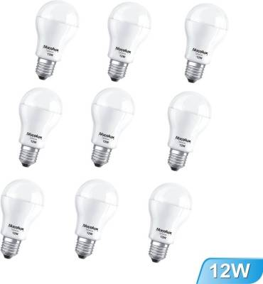 12W-E27-White-Led-Bulb-(Set-Of-9)