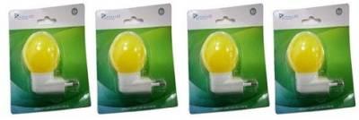Syska-0.5W-LED-Bulb-(Yellow,-pack-Of-4)