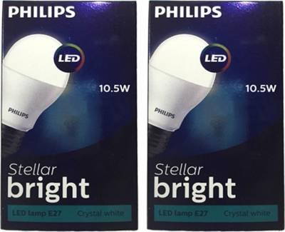 Philips-10.5-W-LED-Steller-Bright-Bulb-E27-Cool-Day-Light-white-(pack-of-2)