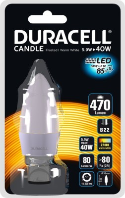 Duracell-5.3W-B22-Led-Bulb-(Warm-White,-Set-Of-4)