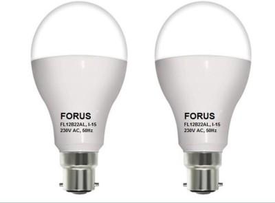 FORUS-12W-B22-LED-Bulb-(White,-Pack-of-2)