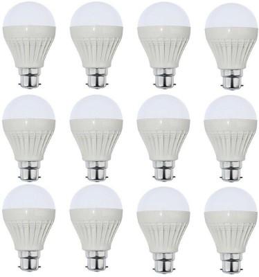 Parax 12 W Standard B22 LED Bulb(White, Pack of 12)