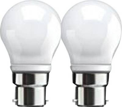 3-W-B22-LED-Bulb-(White,-Pack-of-2)