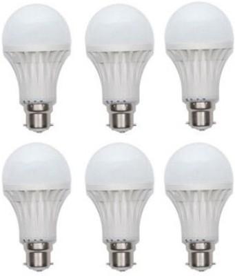 Jmt-Plus-15W-Plastic-100-Lumens-White-LED-Bulb-(Pack-Of-6)