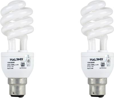 Halonix 15 W Twister CFL Bulb (Pack of 2) Image