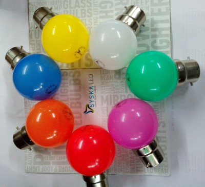 Syska-0.5-W-LED-Bulb-Multicolor-(pack-of-7)