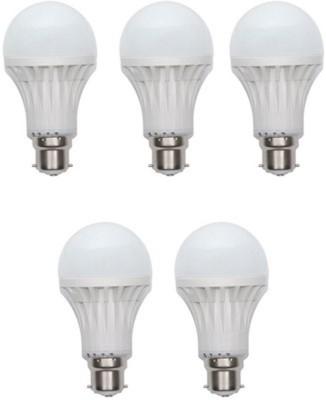 Jmt-Plus-15W-Plastic-450-Lumens-White-LED-Bulb-(Pack-Of-5)