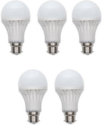 15W-Plastic-450-Lumens-White-LED-Bulb-(Pack-Of-5)