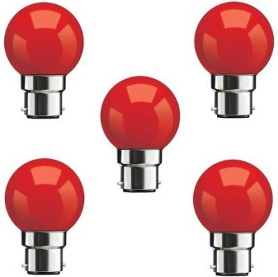 0.5-W-LED-Bulbs-(Red,-Pack-of-5)
