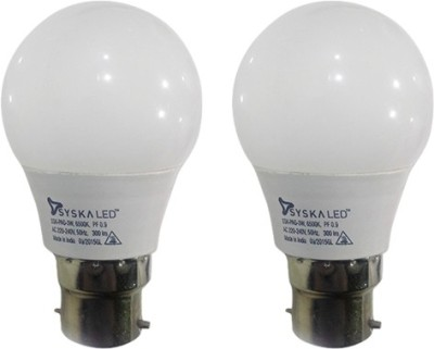 3W-B22-Plastic-LED-Bulb-(White,-Pack-of-2)-