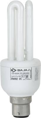 Bajaj Miniz 3U 15 W CFL Bulb Image