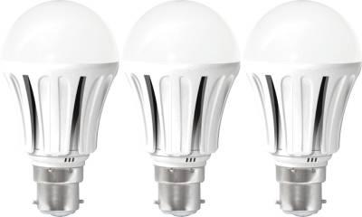 United 8W LED Bulb (White, Pack of 3) Image