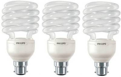 Tornado-B22-23-W-CFL-Bulb-(Warm-White,Pack-of-3)