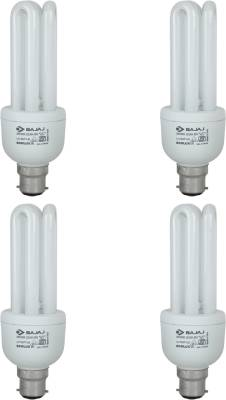 20-W-3U-Ecolux-CFL-White-Bulb-(Pack-of-4)