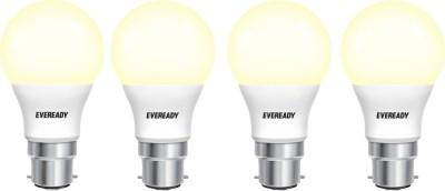 Eveready-7W-B22D-630L-LED-Bulb-(Yellow,-Pack-Of-4)