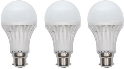 Jmt-Plus-12W-Plastic-450-Lumens-White-LED-Bulb-(Pack-Of-3)