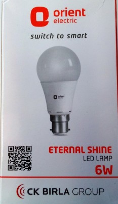Orient-6-W-LED-Bulb-B22-White