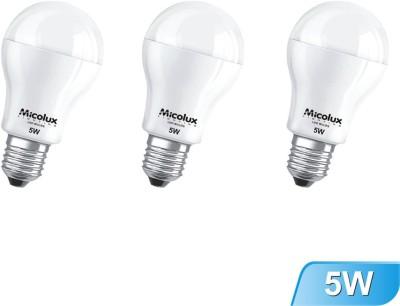 5W-Cool-Day-Light-E27-Base-LED-Bulbs-(Pack-Of-3)