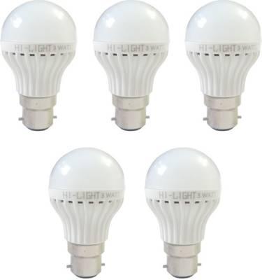 3W-B22-LED-Bulb-(White,-Set-of-5)