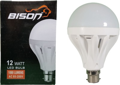 Bison-12W-B22-LED-Bulb-(White)