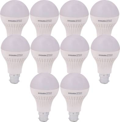 Swarn-7W-B22-600L-LED-Bulb-(White,-Pack-Of-10)