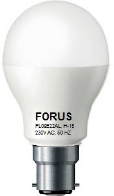 FORUS-9-W-FL09B22AL-LED-Bulb-B22-Cool-White
