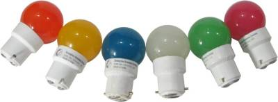 Greaves-L14SO6-0.5-W-LED-Bulb-Multi-color-(pack-of-6)