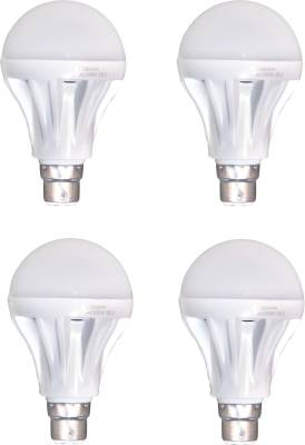 12-W-B22-LED-Bulb-(White,-Pack-of-4)