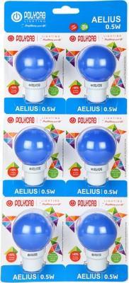 0.5-W-LED-Eco-Friendly1-Bulb-(Blue,-Pack-of-6)