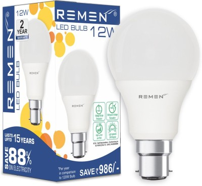 REMEN-12W-B22-LED-Bulb-(Cool-Day-Light)