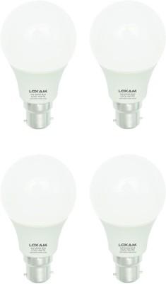 Loxam-5W-B22-LED-Bulb-(Cool-White,-Pack-of-4)
