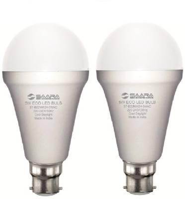 -5W-White-Eco-Led-Bulbs-(Pack-Of-2)-