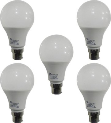 Syska-9-W-B22-PAG-LED-Bulb-(White-,Plastic,-Pack-of-5)