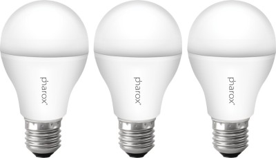Pharox-9W-B22-Apollo-Led-Bulb-(Cool-White,-Set-Of-3)