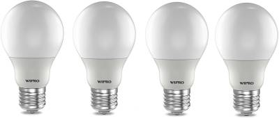 Wipro 12W E27 LED Bulb (Cool Day light, Pack Of 4) Image