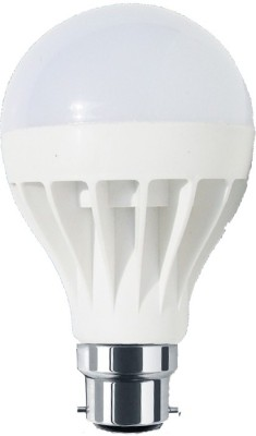 Sunbeam-7W-B22-White-LED-Economy-Bulb-(Plastic)