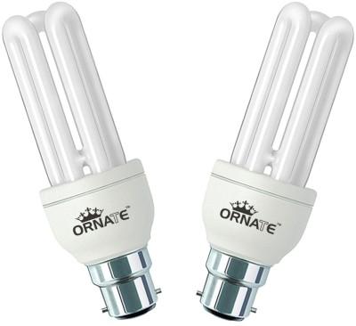 Ornate-20-W-CFL-Bulb-(White,-Pack-of-2)