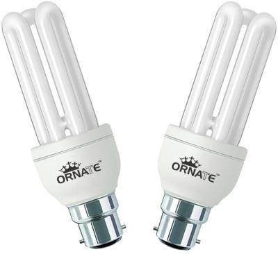 Ornate 20 W CFL Bulb (White, Pack of 2) Image