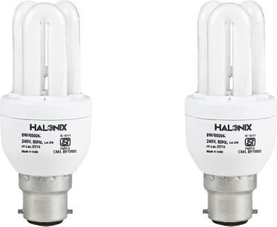 Halonix 8 W CFL 3U Bulb (Pack of 2) Image