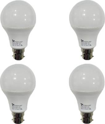 7W-B22-Plastic-LED-Bulbs-(White,-Pack-of-4)-