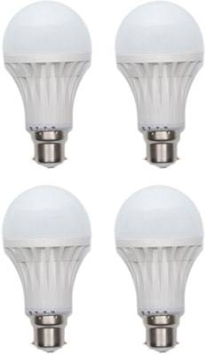 15W-Plastic-450-Lumens-White-LED-Bulb-(Pack-Of-4)