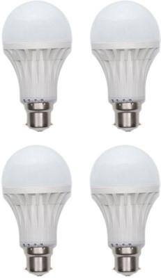 Jmt-Plus-15W-Plastic-450-Lumens-White-LED-Bulb-(Pack-Of-4)