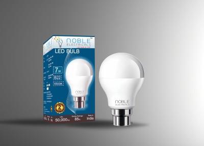 Noble-7W-B22-LED-Bulb-(White)