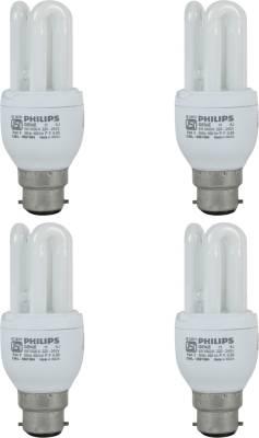 Genie-14-W-3U-CFL-Bulb-(Cool-Day-Light,-Pack-of-4)