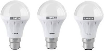 Oreva 10W White LED Bulb (Pack Of 3) Image