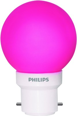 Philips-0.5-W-LED-Deco-B22-IND-Bulb-Pink-(pack-of-6)