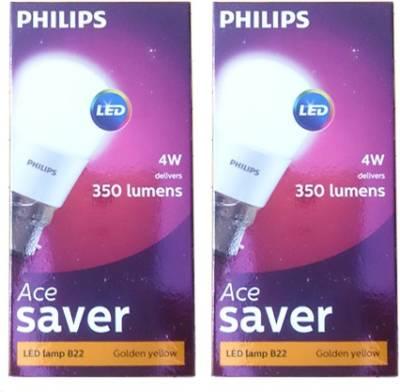 4-Watt-350L-White-LED-Bulb-(Pack-of-2)