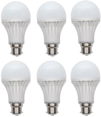 Jmt-Plus-15W-Plastic-450-Lumens-White-LED-Bulb-(Pack-Of-6)