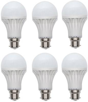 15W-Plastic-450-Lumens-White-LED-Bulb-(Pack-Of-6)